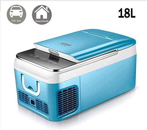 Portable compresor del congelador de refrigerador (18, 26 litros) Mini AC 220V o DC 12 V / 24 V Desarrollado Enfriador |Alimentos, bebidas, |Camping, viajes, gris-coche Use18l 1yess