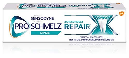 Sensodyne ProSchmelz Repair Zahnpasta, tägliche Zahnpasta mit Fluorid, 1x75ml, repariert nachweislich durch Säuren geschwächten Zahnschmelz