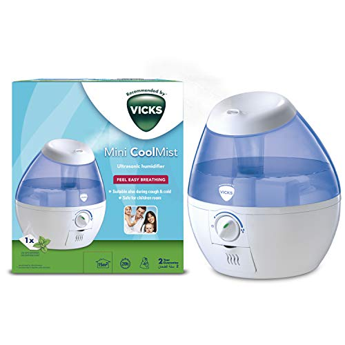 Vicks VUL520 - Humidificador ultrasónico Mini Cool Mist