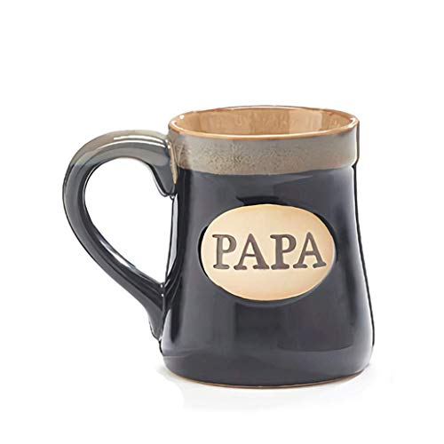 Mug Gift For Dad XL 18 oz Imprint,' PAPA, The Man - The Myth - The Legend' 18