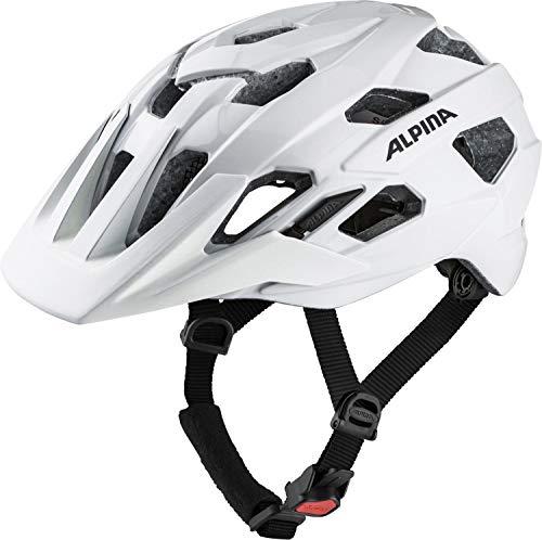 Alpina Unisex– Erwachsene ANZANA Fahrradhelm, white, 52-57 cm
