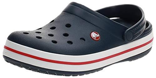 Crocs Unisex Crocband Clogs, Navy, 46/47 EU