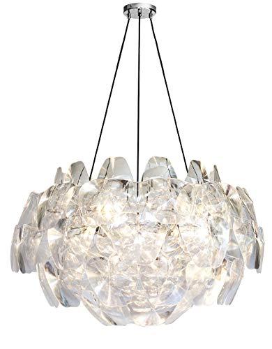 Riesengroße Acryl Plexiglas Lampe Bauhaus Kronleuchter