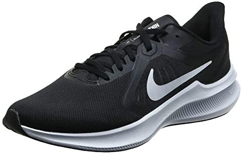 Nike Herren Downshifter 10 Running Shoe, Black/White-Anthracite, 44 EU