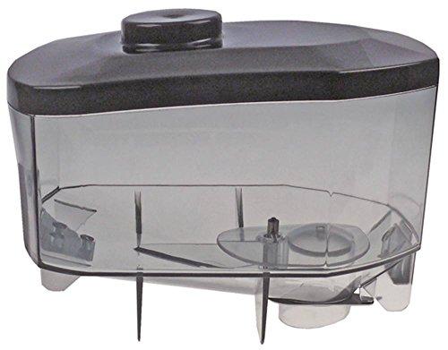 QualityEspresso-futurmat koffiebonenhouder voor koffiemolen met deksel hoogte 180 mm opname ø 51 mm breedte 190 mm lengte 280 mm