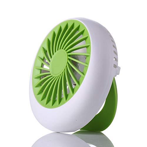 FSCZHLK ventilatorventilator, oplaadbaar, USB, draagbaar, mini-ventilator voor kantoor, USB-elektrische airconditioning, kleine ventilatorhoekinstelling, 1200 mA