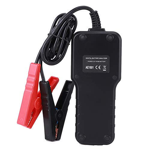 Rodi Comprobador de Capacidad de la batería, función de configuración del Idioma de Trabajo Estable Analizador de batería, para el Laboratorio del Trabajador de Mantenimiento del automóvil en el