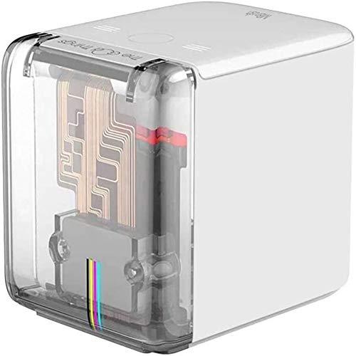 L-SLWI Mini Bluetooth Wi-Fi portátil Impresora, el Cartucho de inyección de Tinta inalámbrica pequeña, Utilizado para la impresión de Texto Personalizado en Cualquier Superficie de Bricolaje
