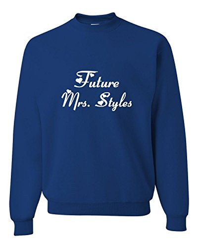 Medium Royal Adult Future Mrs. Styles Sweatshirt Crewneck