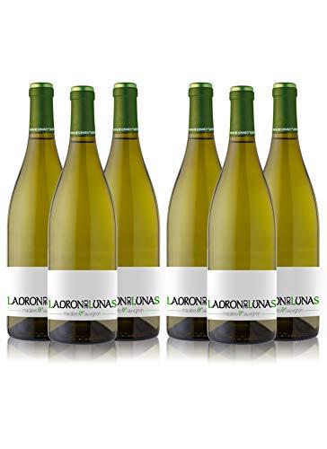 LADRÓN DE LUNAS Vino Blanco Sauvignon Blanc. D.O Utiel-Requena. 80% Sauvignon blanc, 20% Macabeo. Botella de 75 Cl (Pack de 6 Botellas)