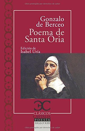 Poema de Santa Oria (CLASICOS CASTALIA. C/C.)