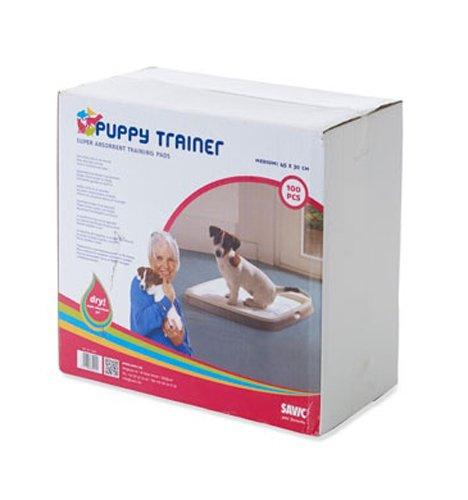Savic Puppy Trainer Recharges, Medium, Blanc cassé