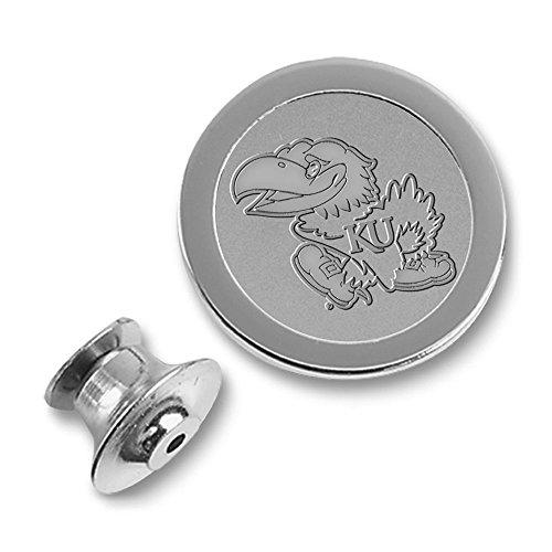 NCAA Kansas Jayhawks Adult Men Lapel Pin, Silver