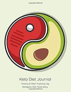 Keto Diet Journal: Macros & Meal Tracking Log, Ketogenic Diet Food Diary