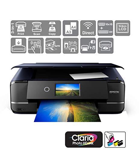 Epson Expression Photo XP-970 Print/Scan/Copy Wi-Fi Printer, Black
