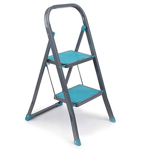 Beldray LA023957TQ 2 Step DIY Hobby Stepladder, Turquoise