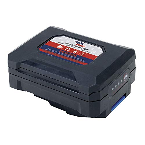 AlphaWorks Lithium-Ion Rechargeable Battery Pro Super Duty 48V DC 2Ah 88.8 Watt Hours (Battery ONLY)