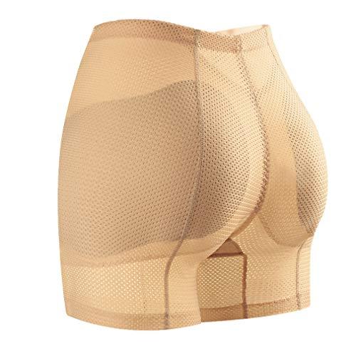 Fauhsto Braguitas Moldeadoras Levanta Calzones Sin Costuras Hip Up Enhancer Bragas Push Up con Relleno para Mujer Calzoncillos Invisibles Elástico Shapewear ⭐