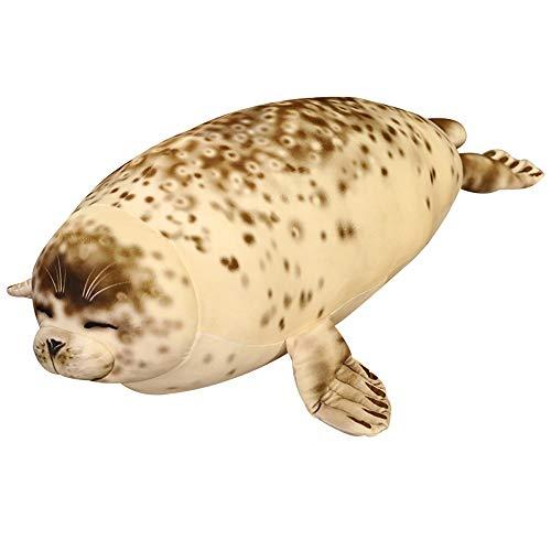 HJHJK Riesiges echtes Leben Seelöwe Plüschtier Weich Kuscheltier Siegel Kissen Simulation Beschwichtigen Puppe Baby Kinder (Size : 85cm)