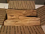 Black Cherry Wood 10' Mini Logs for Smoking BBQ Grilling Cooking Smoker Priority Shipping