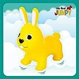 Gerardo`S Hüpftier Hase. Hüpftiere ab 1 Jahr und ab 2 Jahre. Aufblasbare Tiere Spielzeug Draussen...