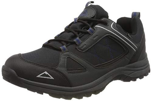 McKINLEY Herren AQUABASE Maine Walking-Schuh, Black/Anthracite/B, Gr. 44 EU