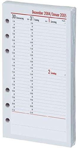 Ersatzkalendarium A6 1W 2S BSB 02-0094 vertikal