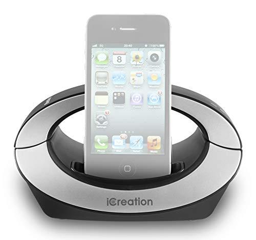 Geemarc I350 Schwarz - Design Dockingstation für die i-Phone Serie (3 bis 4S) mit Bluetooth Headset