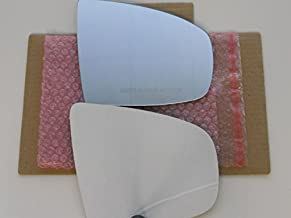 New Replacement Mirror Glass with FULL SIZE ADHESIVE for 2007-13 BMW X5 / 2008-14 BMW X6 Passenger Side View Right RH
