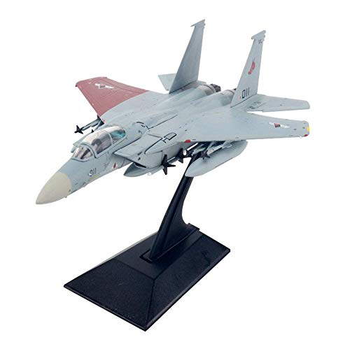 JHSHENGSHI Modelo de Combate, Escala 1/144 F-15C Eagle Ace Fighter Combat Galm 02 Modelo de aleación, Regalos para Adultos, 5.3 Pulgadas x 3.5 Pulgadas