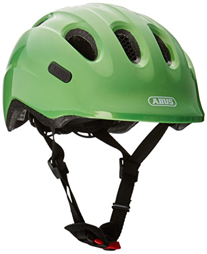 ABUS Unisex Jugend Smiley 2.0 Fahrradhelm, Sparkling Green, S