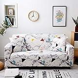 PCSACDF - Funda de sofá con Estampado de Colores Eng Envuelto Funda de sofá elástica Needs Order If L Style Sectional Ecksofa-Bezüge 1 Pieza 45 cm Fundas de Almohada 14