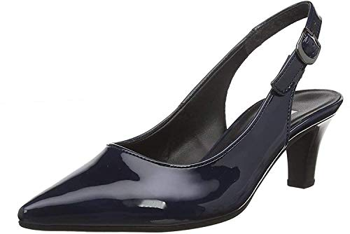 Gabor Shoes Damen Fashion Pumps, Blau (Marine 76), 40 EU