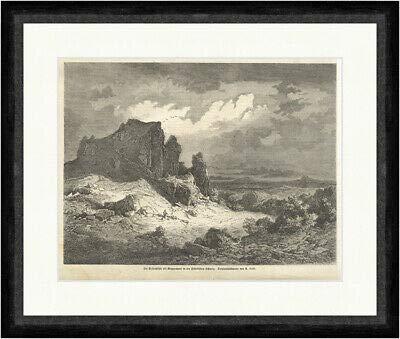 Kunstdruck Die Felsenhöhle bei Muggendorf in der fränk. Schweiz A. Geist Faksimile_E 11599