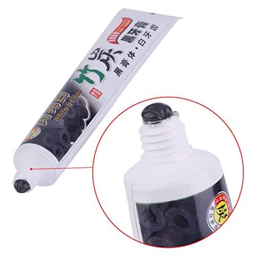 MachinYesity 100G Sbiancamento Igiene Orale Carbone di bambù Dentifricio Universal Home Nero Colore Dentifricio Denti Cura Accessorio Nero