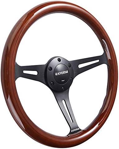 Steering wheels wood grain