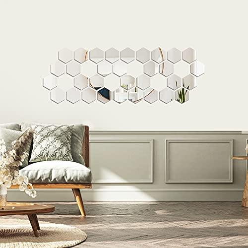 Espejos Decorativos para Habitacion Plata Marca decalmile