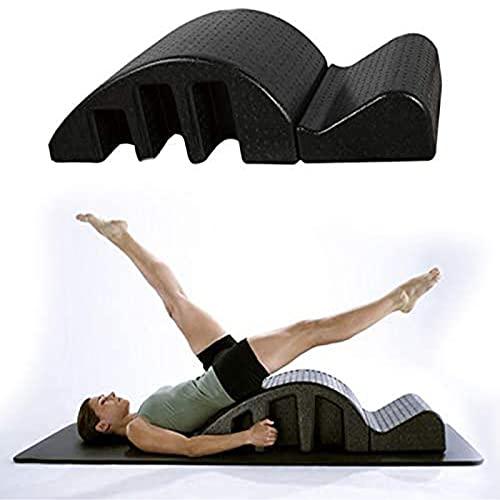 ZLZNX Spine Supporter Pilates Masaje Cama, Ortesis De Columna Vertebral Deformidad De La Columna Cervical Corrección Yoga Espuma Kyphosis Corrección Equipo De La Aptitud Pilates Arco