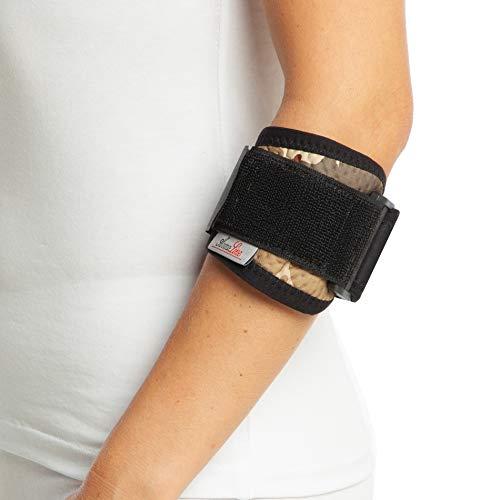 Correa de apoyo para codo de tenis de camuflaje - soporte para ambos brazos - soporte de Epicondylitis - Venda de neopreno ajustable