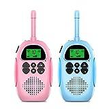 N / B Walkie Talkies para niños Juegos al Aire Libre, señales Fuertes, Llamadas claras y ruidosas, Llamada de intercomunicación de Ultra Distancia, interacción Entre Padres e Hijos, Carga USB