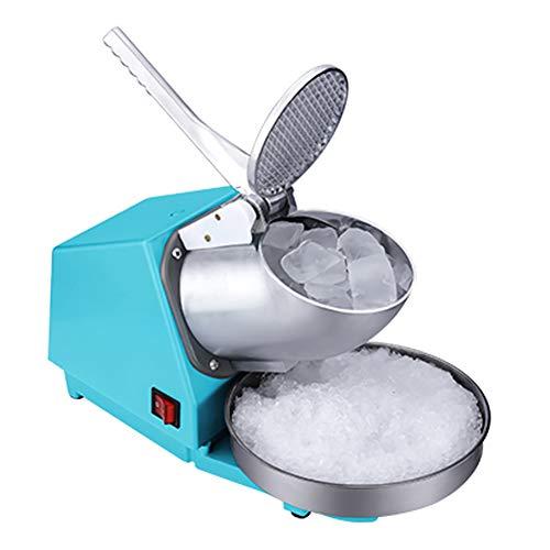 TCYLZ Commerical Eismaschine, Home kleine Eismaschine elektrische Teegeschäft manuelle Eismaschine 65kg / hr