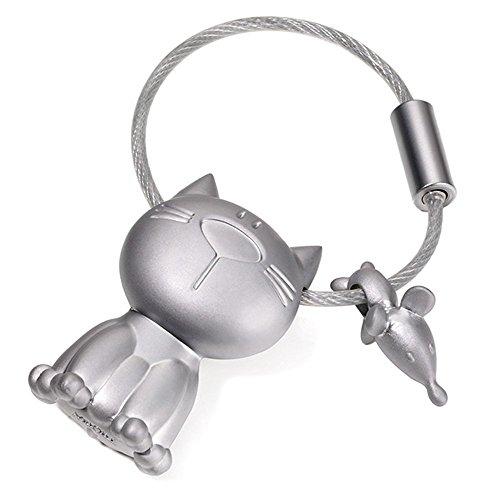 TROIKA - KR14-20 - Llavero del Gato y el ratón