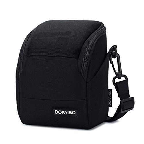 DOMISO - Custodia per fotocamera compatta protettiva, colore: Nero