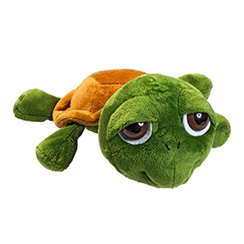 Minifeet Plüsch Schildkröte Lotte ist aus superweichem Plüsch gefertigt. Plüschtier Spielzeug Geschenk für Kinder Baby Mädchen Geburtstag - kuscheln schmusen flauschig Stofftier