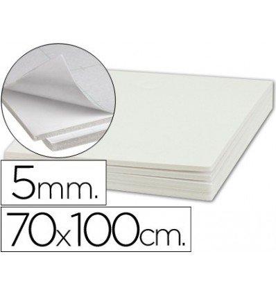 Liderpapel - Carton pluma adhesivo 1 cara 70x100 cm espesor 5 mm (10 unidades)