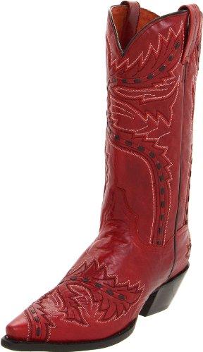 Dan Post Women's Sidewinder Western Boot,Red,9.5 M US