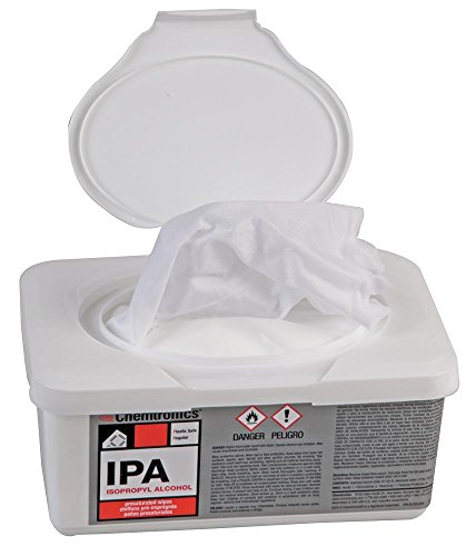 Itw Chemtronics - IPA100B - WIPE, PRESATURATED, ALCOHOL