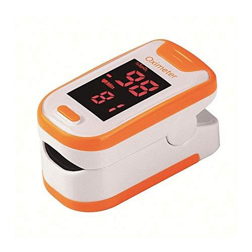 Pulsoximeter, Finger Oximeter Sauerstoffsättigung Meter for Privatanwender Familie Mess Puls und das Oximeter auf dem Finger (blau) (Size : 4)