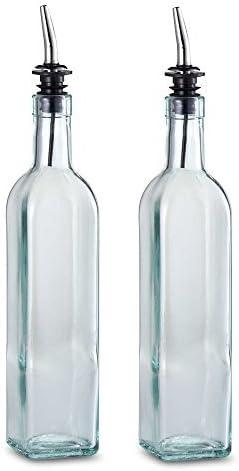 TableCraft 16 oz. Olive Oil Bottle Pourer mart Max 54% OFF Made with USA Set in