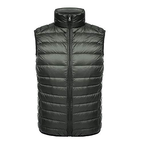 Lightweight winter down vest, short down vest, stand-up collar, foldable jacket, multi-color optional